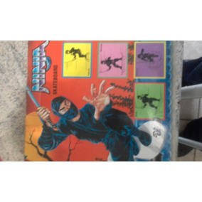 Boneco Skate Ninja Raridade Anos 80