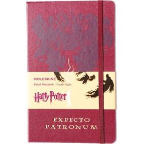 Caderno Moleskine Gde Pautado Harry Potter Expecto Patronum
