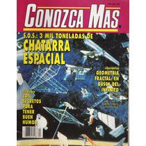 Conozca Más - Chatarra Espacial - Geometría Fractal