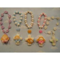 10 Souvenirs Denarios Porcelana Fria. Bautismo. Comunion