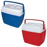Caixa Térmica Cooler Bebida Cores 34 Litros 50 Latas Antares