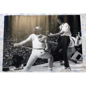 Poster Queen Oficial Live Aid Freddie Mercury