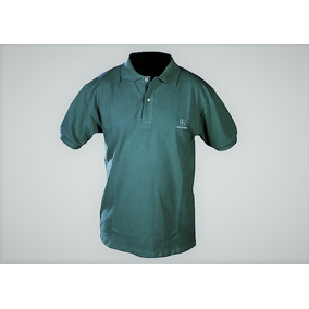 Chomba John Deere Gris O Verde Con Cuello Y Logo Bordado