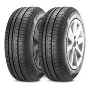 Kit X2 Nematicos Pirelli 185/70 R14 P400 Evo Neumen C/envìo