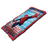 Juguete Spiderman Juvenil Saco De Dormir Con Relleno De 2.0