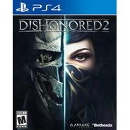 Dishonored 2 Playstation 4 Ps4 Juego Fisico Sellado Original