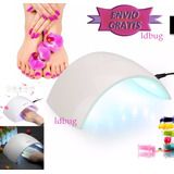 Lampara Led Profesional 24w Uñas Gel/acrilicas /gelish New