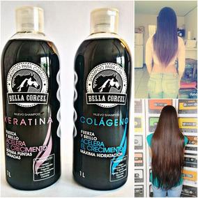 Shampoo De Caballo Bella Corcel Acelera El Crecimiento 1 L