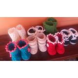 Botitas Para Bebes En Crochet
