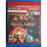 Mortal Kombat Edicion Completa - Fisico - Ps3