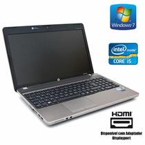 Notebook Core I5 4gb 500gb Wifi Win7 - Hp 6460b Frete Grati