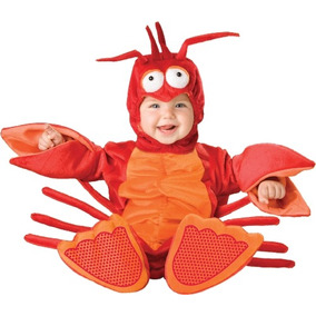 Lil Personajes Unisex-baby Infant Costume Lobster, Red / Or