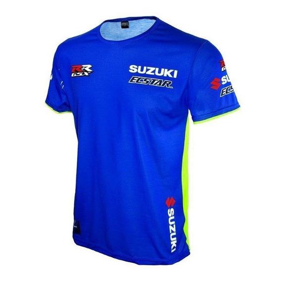 Remera Moto Suzuki Ecstar Team  Argentina Originales
