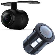 Câmera De Ré Automotiva - Colorida Visão Noturna Mini Gps Tv