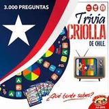 Juego Trivia Criolla 3000 Preguntas De Chile