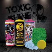 Toxic Shine | Kit / Combo De Lavado Completo | Plate #02