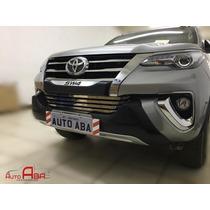 Front Bumper Overbumper Nova Toyota Hilux Sw4 2016 2017