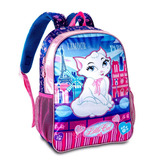 Mochila Feminina Infantil Costas Escola Little Cat Lc7312j