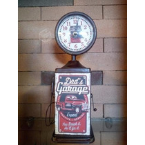Reloj Metálico Envejecido Estilo Vintage