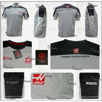 Playera Haas F1 Team Genuina Esteban Gutiérrez 2016