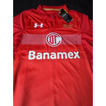 Playera Jersey Club Toluca Under Armour 2016 2017