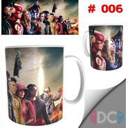 Taza Comics Coleccionable Crossover Dc Comic #006