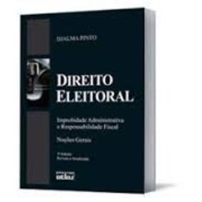 Livro Direito Eleitoral - Noções Gerais Djalma Pinto