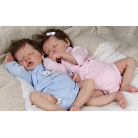 Reborn Gêmeos Com Placa Na Barriguinha , Imperdivel ! Barata
