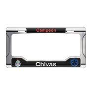 Portaplacas Chivas Campeón Metálico Autos Camionetas Pick Up