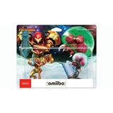 Amiibo Double Pack Samus Aran Metroid Nuevo Nintendo