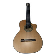 Violão Luthier Araújo 7 Cordas Imbuia/cedro Cutway Nylon