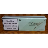 Cigarrillos Davidoff Mentol Importados 10 Box De 20 Lleno!!
