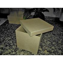 Cajitas De 8x8x8 De Fibrofacil X 10 Unidades