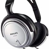 Headphone Controle De Volume Philips Cabo Comprido Tv P2 P10