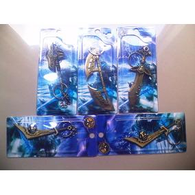 Lote Com 04 Chaveiros Espadas Frete R$10
