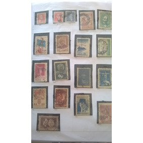 Coleção Com 1000 Selos Variados Nacionais De 1932 À 1988