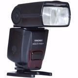 Flash Yongnuo Yn-560 Iv Radio Transmisor Nikon Canon Guia 58