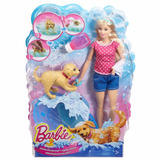 Barbie Baño De Perritos, Orig Mattel