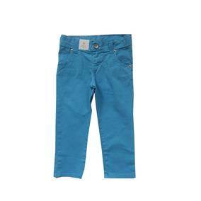 Calça Menino Sarja Azul Marca Colorittà Tamanho 1 E 3 Anos