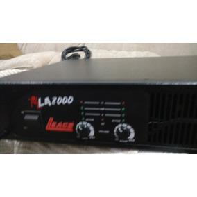 Amplificador La 8000 Da Leacs - Excelente Estado, Revisado!!