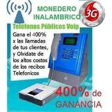 Teléfono Monedero Voip, Linksys, Grandstream, Kit Completo