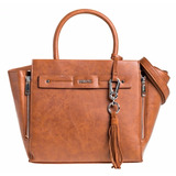 Prune 2382 Cartera Ginger Cierres Correa Larga 100% Original
