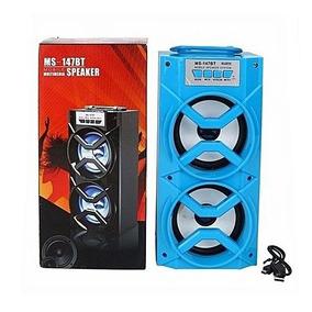 Caixa Som Amplificada Bluetooth Usb Mp3 Radio Fm Usb Pendriv