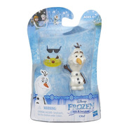 Miniatura Olaf- Frozen 2 - Little Kingdom- Hasbro