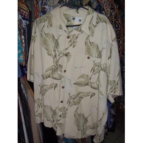 Camisa Hawaiana Flores Modelo Clasico J 307