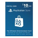 Psn Card 10 Usd Cuenta Usa