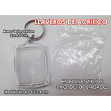 Llaveros De Acrilico, En Bolsas Ziploc $ 6,00