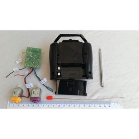 Placa Receptora + Controle + Motores Para Carrinhos Cod 6