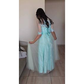 Vestido Longo Casamento Madrinha Verde Bebe Agua Menta