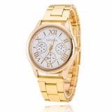 Reloj Geneva Metalico Foto Real